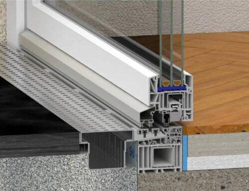 Neuigkeiten! PVC Balkontür ohne Schwelle.